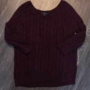 American Eagle Dark Red Sweater